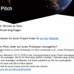 Climathon: Informationen zum Pitch